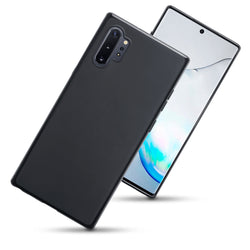 Qubits Samsung Galaxy Note 10 Plus TPU Gel Case - Black Matte