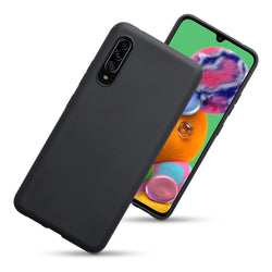 Qubits Samsung Galaxy A90 5G TPU Gel Case - Black Matte