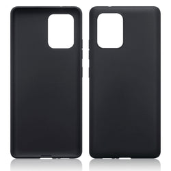 Qubits Samsung Galaxy A91 / S10 Lite TPU Gel Skin Case - Black Matte