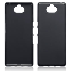 Qubits Sony Xperia 10 Plus TPU Gel Case - Black Matte