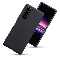 Qubits Sony Xperia 5 TPU Gel Case - Black Matte