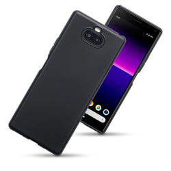 Qubits Sony Xperia 20 TPU Gel Case - Black Matte (CLEARANCE)