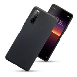 Qubits Sony Xperia 10 II TPU Gel Case - Black Matte