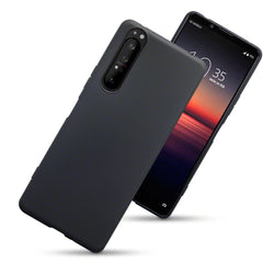 Qubits Sony Xperia 1 II TPU Gel Case - Black Matte
