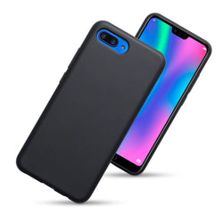 Qubits Huawei Honor 10 TPU Gel Skin Case - Black Matte (CLEARANCE)
