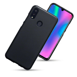 Qubits Huawei P Smart 2019 TPU Gel Case - Black Matte