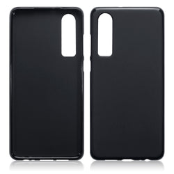 Qubits Huawei P30 TPU Gel Case - Black Matte