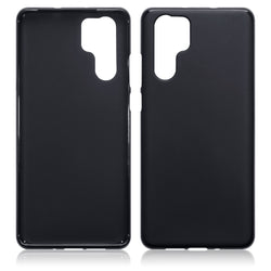 Qubits Huawei P30 Pro TPU Gel Case - Black Matte