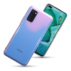 Qubits Huawei Honor V30 TPU Gel Case - Clear