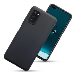 Qubits Huawei Honor V30 TPU Gel Case - Black Matte