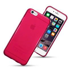 Qubits Apple iPhone 6/6S 4.7'' TPU Gel Case - Red