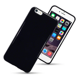 Qubits Apple iPhone 6 Plus / 6S Plus TPU Gel Case - Solid Black (CLEARANCE)