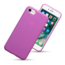 Qubits Apple iPhone 7/8/SE 2020 TPU Gel Case - Pink Matte
