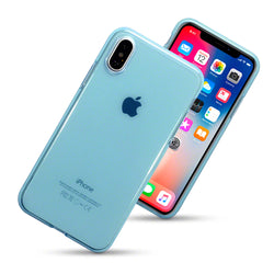 Qubits Apple iPhone X/XS TPU Gel Case - Blue