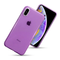 Qubits Apple iPhone X/XS TPU Gel Case - Purple