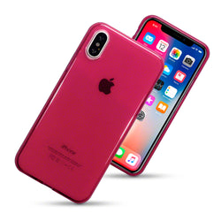 Qubits Apple iPhone X/XS TPU Gel Case - Red