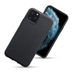 Qubits Apple iPhone 2019 5.8 Inch TPU Gel Case - Black Matte
