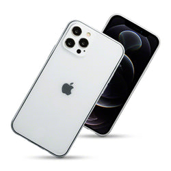 Qubits iPhone 12 / iPhone 12 Pro TPU Gel Case - Clear