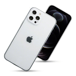Qubits iPhone 12 Pro Max TPU Gel Case - Clear