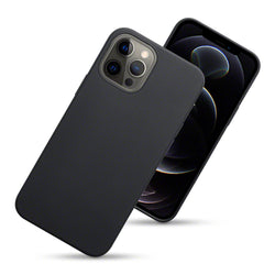 Qubits iPhone 12 Pro Max TPU Gel Case - Black Matte