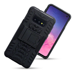 Qubits Samsung Galaxy S10e Rugged Case - Black