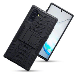 Qubits Samsung Galaxy Note 10 Rugged Case - Black