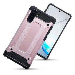 Qubits Samsung Galaxy Note 10 Double Layer Impact Case - Rose Gold (CLEARANCE)
