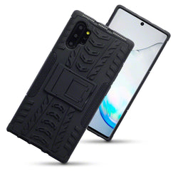 Qubits Samsung Galaxy Note 10 Plus Rugged Case - Black