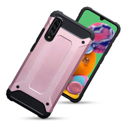 Qubits Samsung Galaxy A90 5G Double Layer Impact Case - Rose Gold