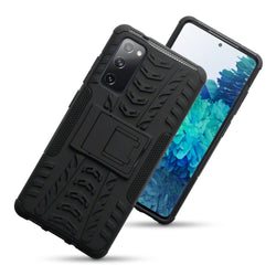 Qubits Samsung Galaxy S20 FE Rugged Case - Black