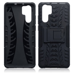 Qubits Huawei P30 Pro Rugged Case - Black