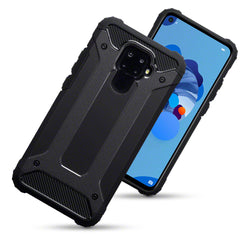 Qubits Huawei Mate 30 Lite Double Layer Impact Case - Black (CLEARANCE)