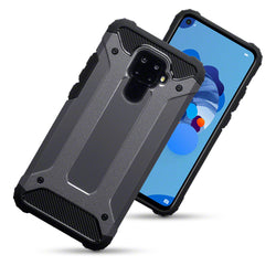 Qubits Huawei Mate 30 Lite Double Layer Impact Case - Gunmetal (CLEARANCE)