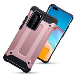 Qubits Huawei P40 Pro Double Layer Impact Case - Rose Gold