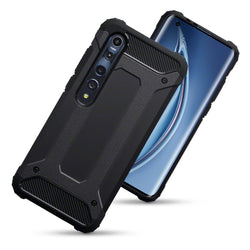 Qubits Xiaomi Mi 10 5G / Xiaomi Mi 10 Pro 5G Double Layer Impact Case - Black