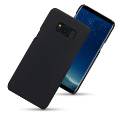 Qubits Samsung Galaxy S8 Plus Hybrid Rubberised Case - Black (CLEARANCE)