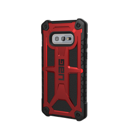 (UAG) Urban Armor Gear Samsung Galaxy S10e Monarch Case - Crimson