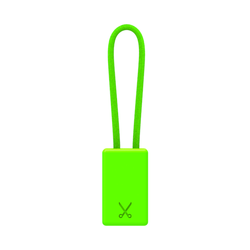 PHILO Lightning MFI Charging Cable Keychain for Apple Device - Neon Green (CLEARANCE)