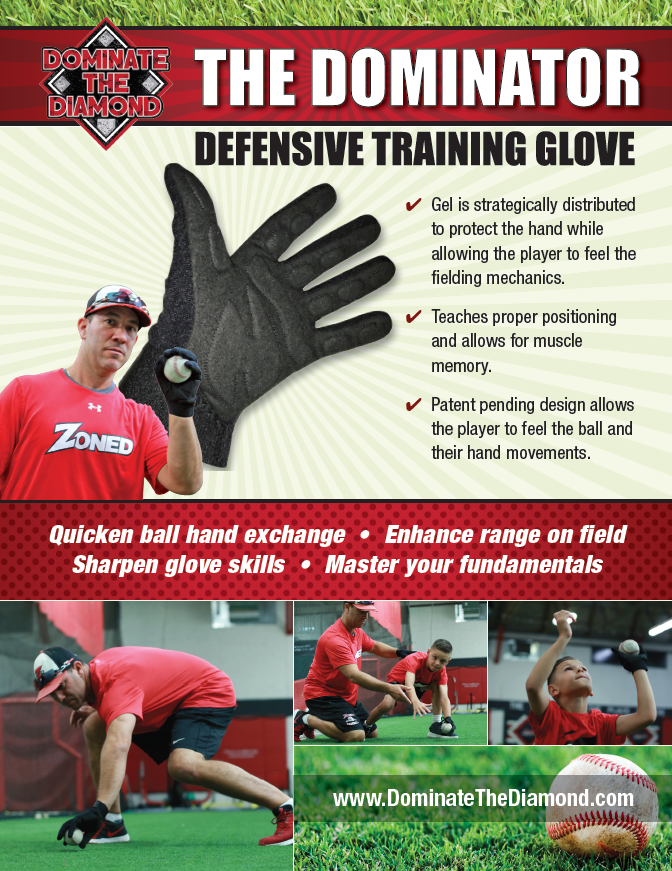 The Dominator- Ultimate Defensive Fielding Glove
