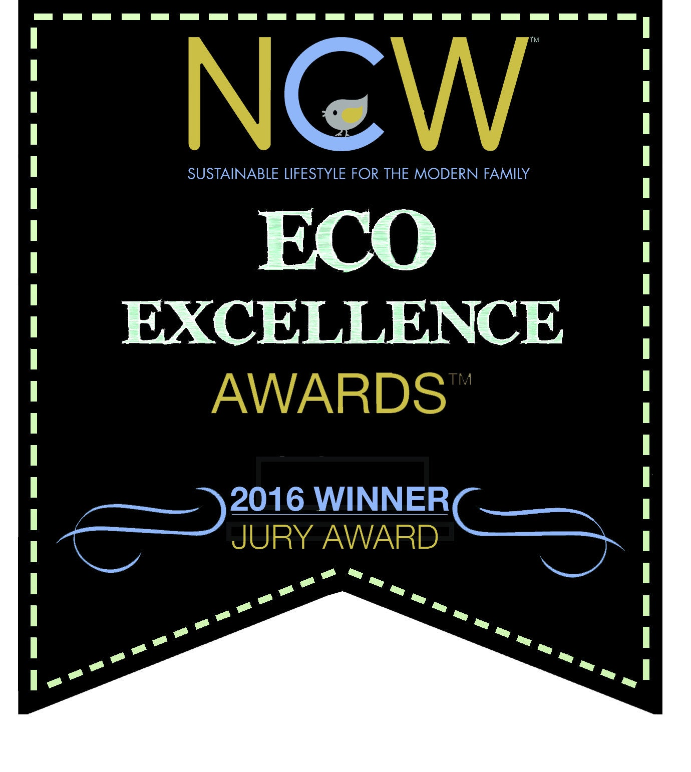 We're an Eco-Excellence Award Winner!