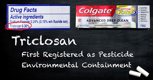 Why is Triclosan Still in Some Toothpaste? Not Ours!