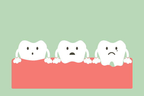 The Stages of Gum pain and periodontal disease