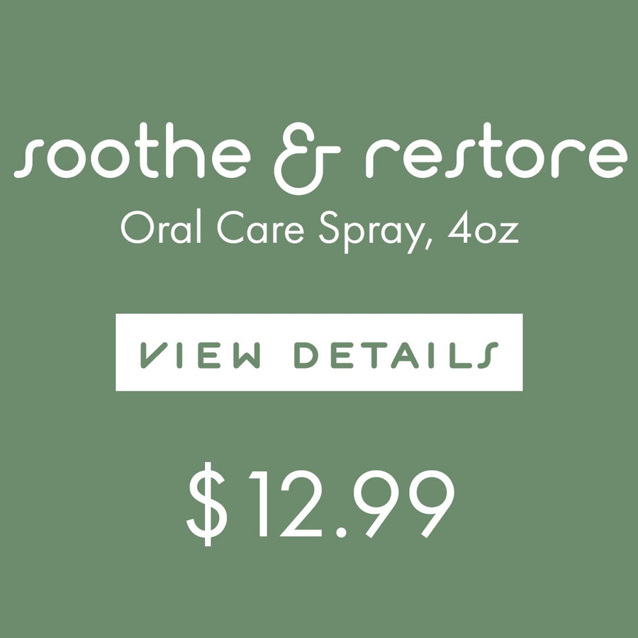 gum relief tea tree oil coconut oil peppermint healing mouth spray