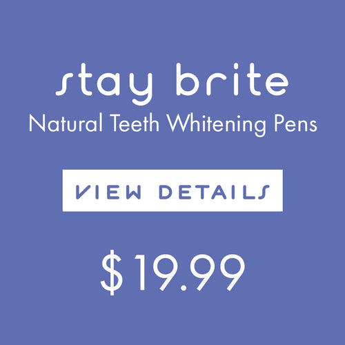 natural coconut oil gentle teeth whitening maintenance pen