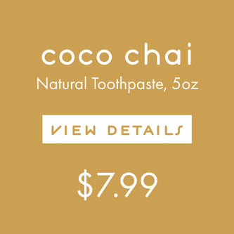 Coco Chai Toothpaste