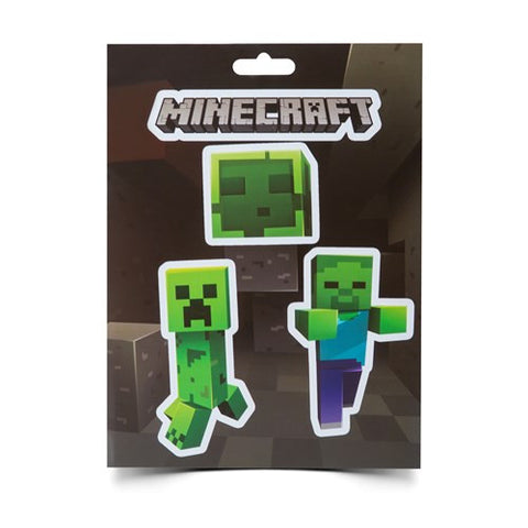 Minecraft Mobs Caves Sticker Pack