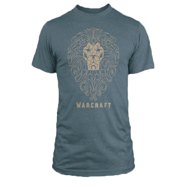 Warcraft Alliance Filigree Tee