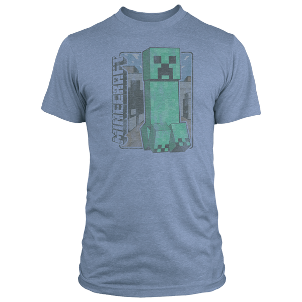 Minecraft Vintage Creeper Tee