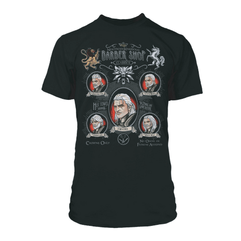 The Witcher 3 Shave And A Haircut Tee