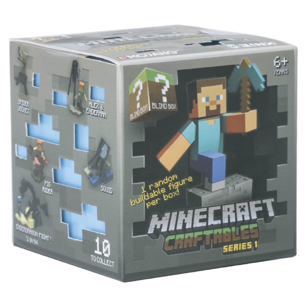Minecraft Craftables Blind Box Series 1 One Blind Box
